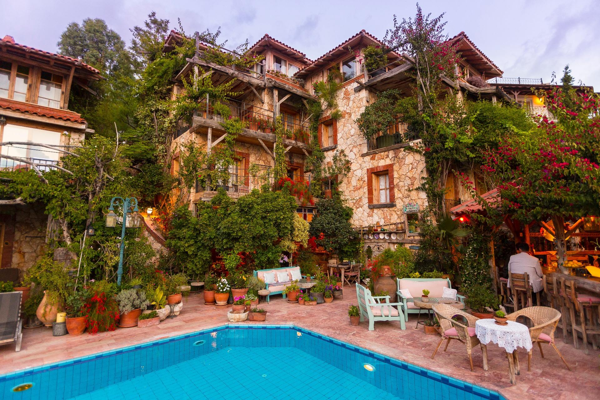 Fidanka Hotel Kalkan Antalya Turkey Small Boutique Hotels