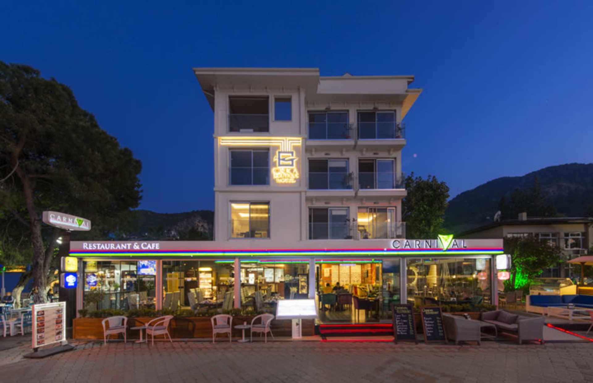 Hotel unique fethiye small boutique hotels for Cool boutique hotels