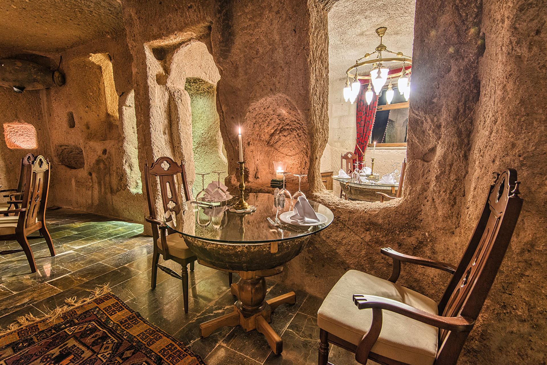 Museum Hotel Uchisar Cappadocia Nevsehir Turkey Small